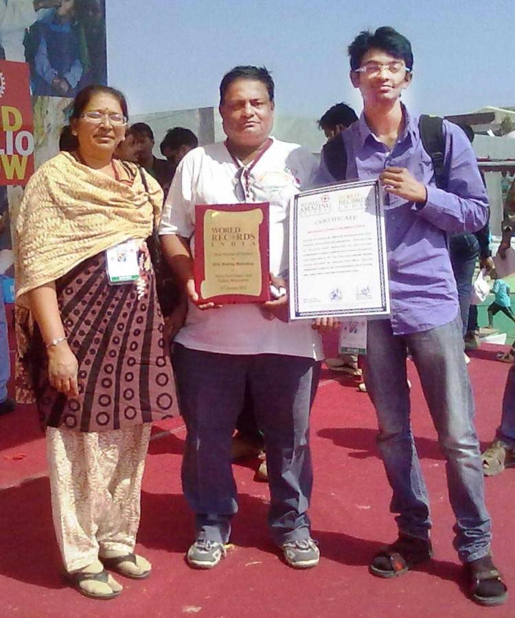 Ashok Shah nisarg shah world record Ashok Designer Kites