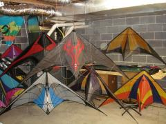 Kites in the dungeon