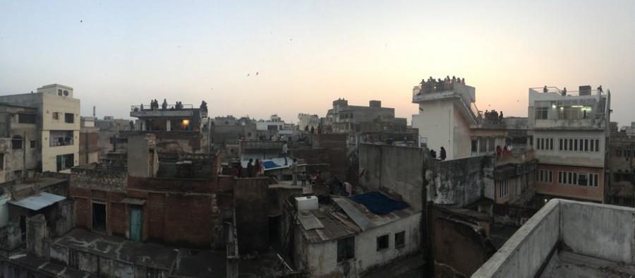 Makar Sankranti starts to fill the skies.