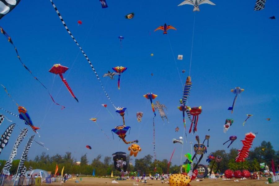Goa Kite Festival 2015