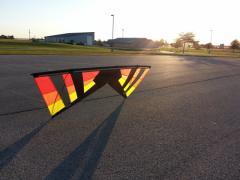 Sunset Color B-Series Revolution Kite