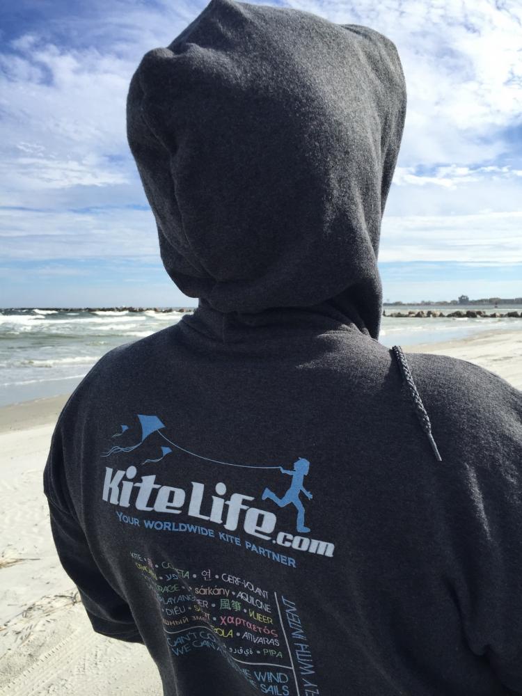 KiteLife hoodie looks good...