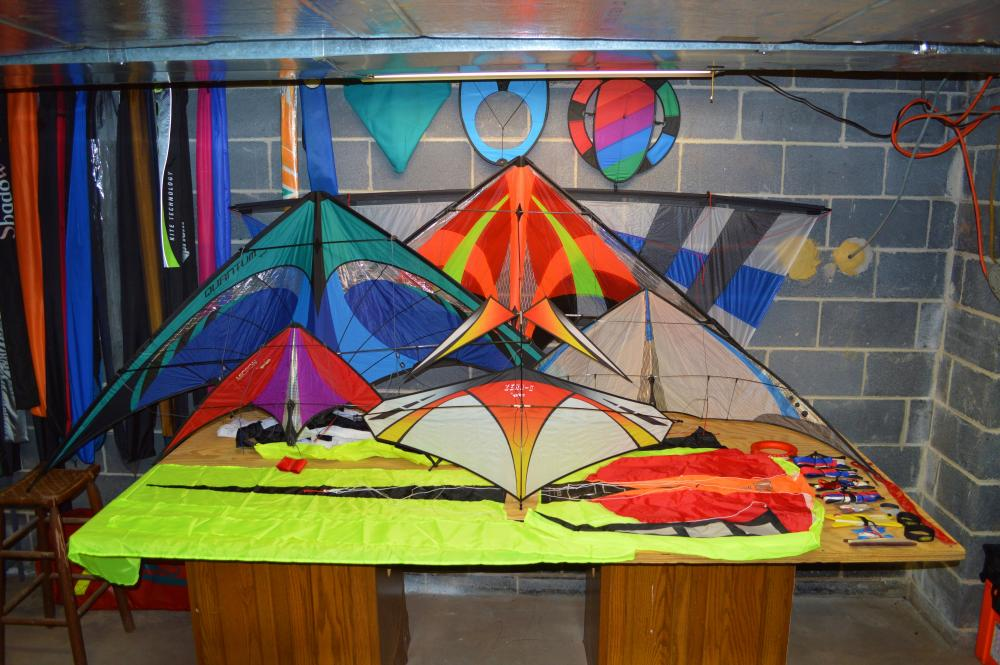 trunk kites assembled