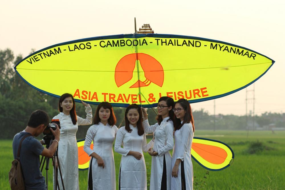 Asia Travel Leisure's Flute Kite