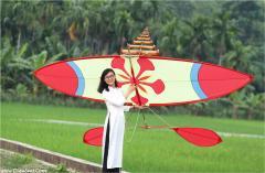 Red Flamboyant's Flute Kite