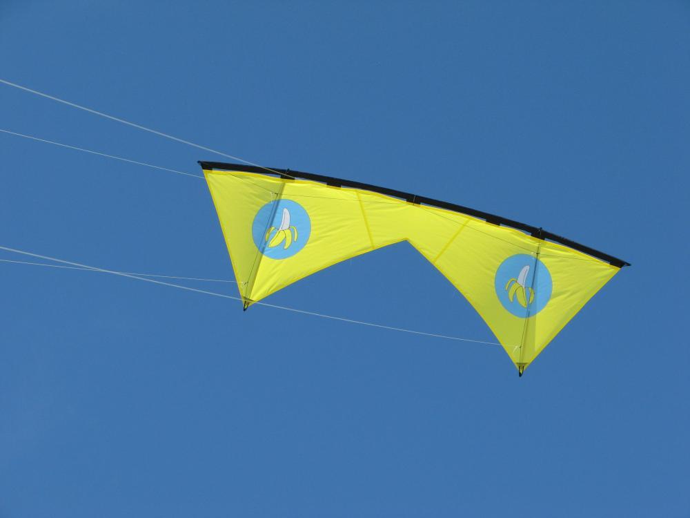 Inaugural Flight of the Banana Quad Line