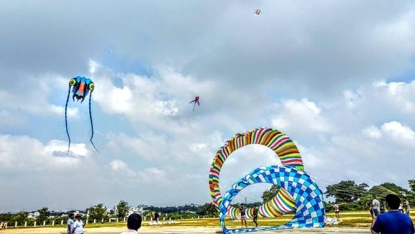 Mysuru Dusshera kite festival 2018 | FLY360.co.in