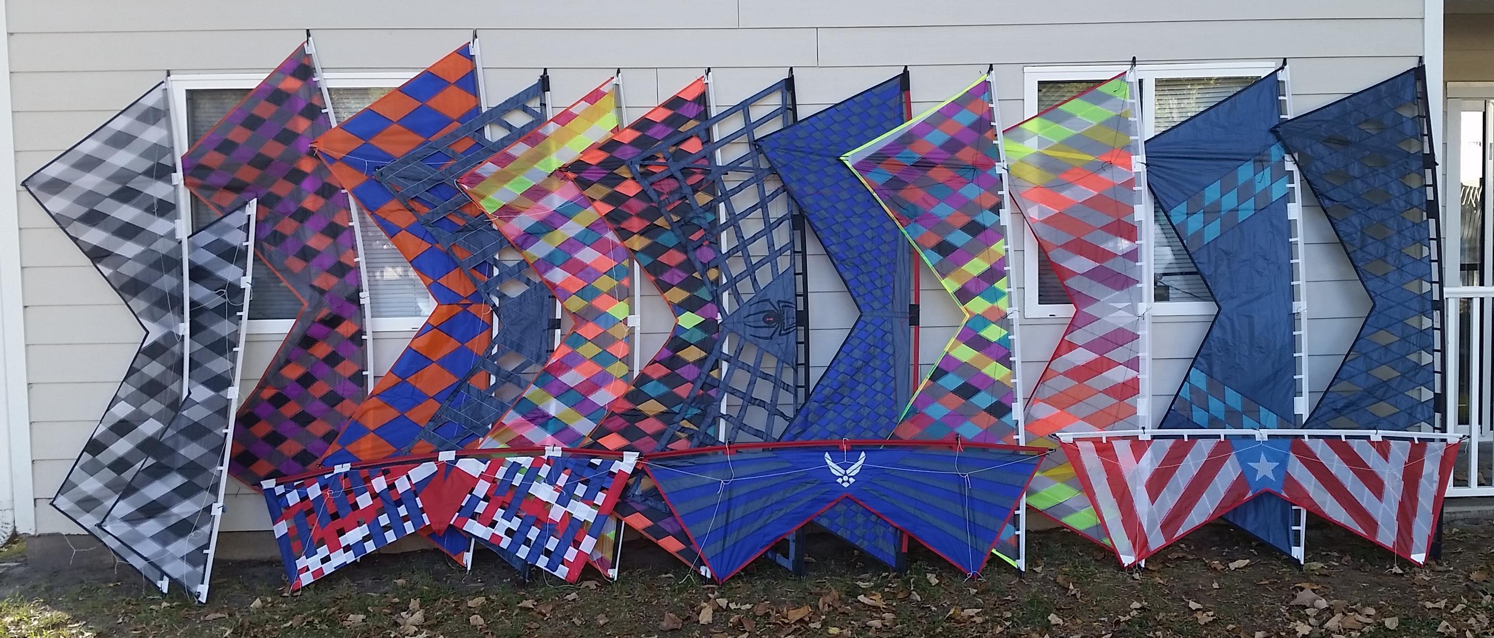 riffclown's homemade kite blog