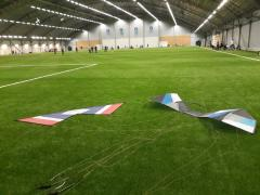 Attending indoor model aircraft events