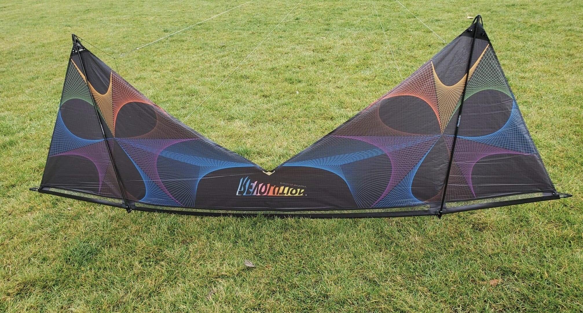 ISO Revolution Spirograph Quad kite
