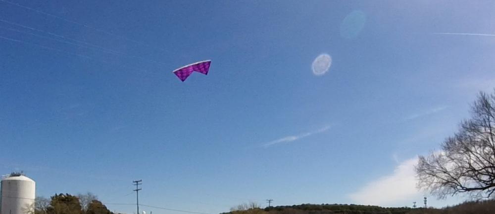 Purple Perspective Kite#83