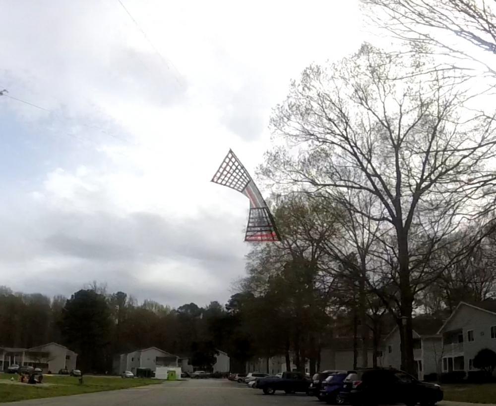 Kite #86 Bridle Test