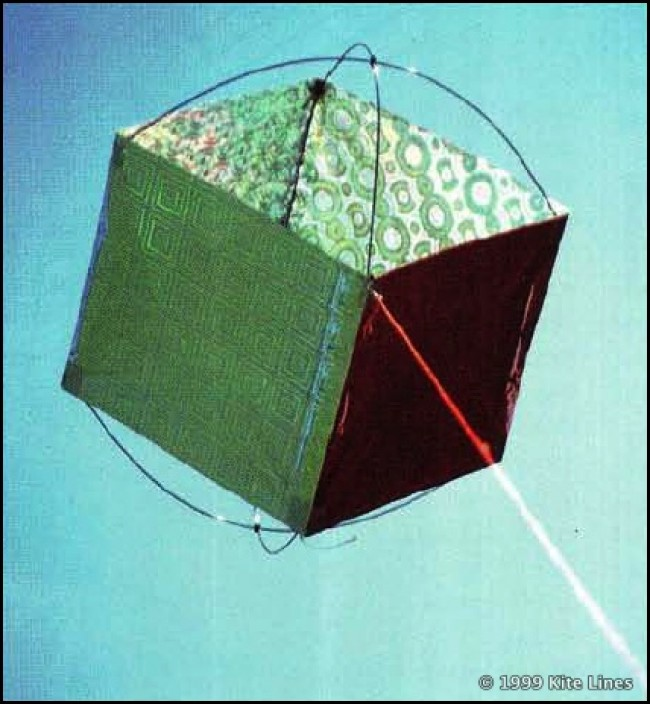 "Issue 65: Kite Plan: The ""Sedgwickcube"""