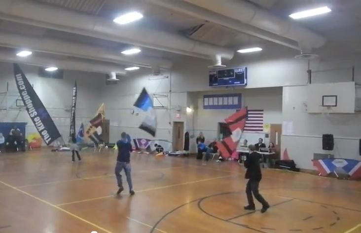 indoor kite flying
