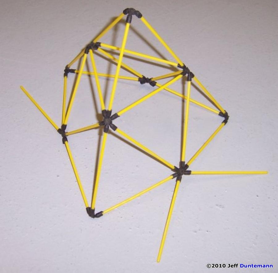 Build a D-Stix Tetrahe...