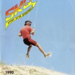 Lee Sedgwick on the SKQ cover, showing power flying techniques